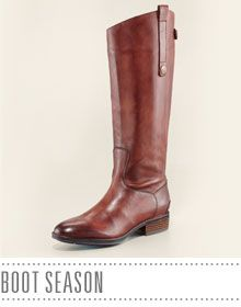 Frye Polished Leather Riding Boot