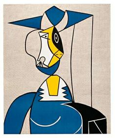Woman with Hat - Roy Lichtenstein