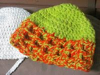 A Girl and Her Yarn: Child Version of the Waffle Stitch Hat