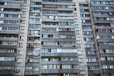 Спальный район Москвы. - The sleeping area of Moscow