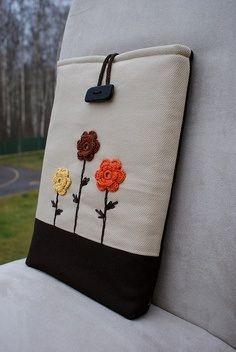Funda tablet flores