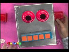 Cabeça de robô | Professor Sassá