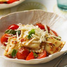 Fresh Tomato Ravioli