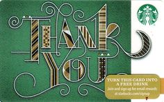 Thank You (green) Holiday 48 Collection 2015