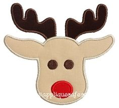 Rudolph 2 Applique Design