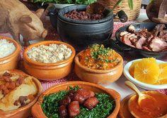 feijoada - The Saturday meal in Brazil.