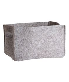 Felt Storage Basket | Product Detail | H&M