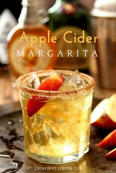Apple Cider Margarita Recipe: Because Margs aren't just for sipping in the summer.