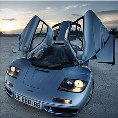 McLaren F1. At one time, the fastest production car on the planet.