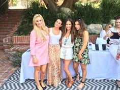 Lea Michele with her friends