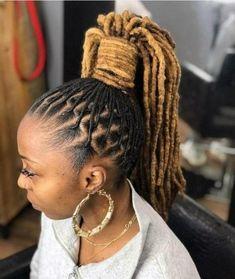 Natural Hair Bob, New Natural Hairstyles, Natural Hair Styles, Gorgeous Hairstyles, Stylish Hairstyles, High Ponytail Hairstyles, Dreadlock Hairstyles, Weave Hairstyles, Hairdos