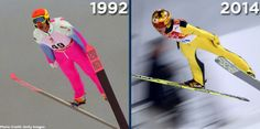 Evolution of Japan's Noriaki Kasai.