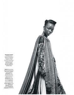 Maria Borges, Neil Dawson, Black Fashion Models