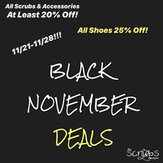 7654a4b5f83 It's time to stock up on your scrubs, shoes, and accessories with The  Scrub's