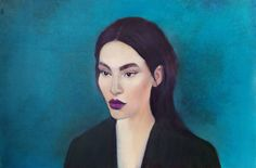 "Saatchi Art Artist Nadezhda Gordyushina; Painting, ""Sarah"" #art"