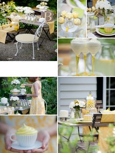 pale yellow desserts