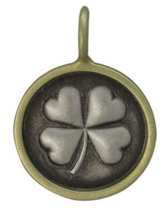 Heather Moore embossed four leaf clover #SkaneatelesJewelry #Skaneateles #WhereCNYgetsENGAGED