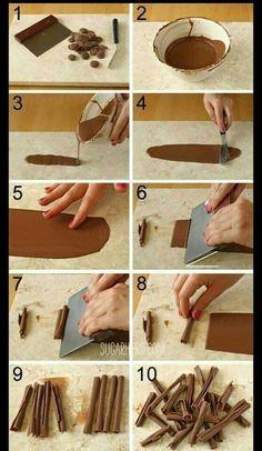 Chocolate stick