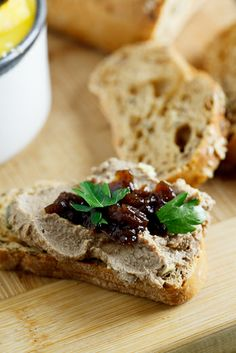 My version of Julia Child's Chicken Liver Mousse. #Recipe #Pâté