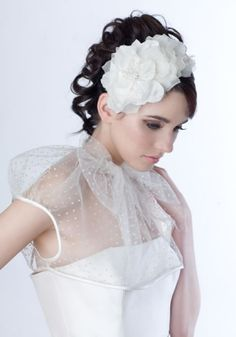 Rachel Trevor-Morgan :: Silk Petal Crescent