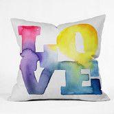Found it at AllModern - CMYKaren Love 4 Polyester Throw Pillow