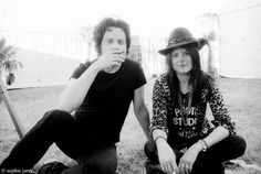 Jack White & Alison Mosshart of the Dead Weather. saw them live at Bonnaroo. their chemistry was so hot!