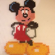 Mickey Mouse hama beads by hoyeean
