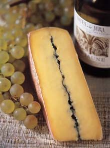 Morbier - cheese ....