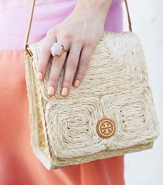 Tory Burch Tina Mini Bag featured on @Alexandra M What Wear so cute
