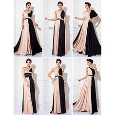 TS+Couture+Mix&Match+Convertible+Dress+Floor-length+Knit+Sheath/Column+Evening+Dress++–+USD+$+79.99