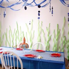 under the sea the sea baby shower | Under the Sea decorations