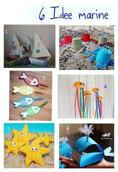 Kreattiva: 6 Idee marine da realizzare con i bambini