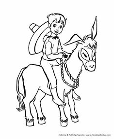 farm animal coloring page boy riding a little donkey coloring pages featuring hundreds of farm animals coloring page sheets