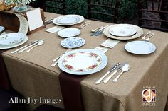 NACE Nov 27 Lunch-On, Mismatched China, A Chair Affair, Inc., Allan Jay Images