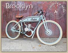 Bicimoto Chopper King Brooklyn Boardtracker - $ 18.995,00