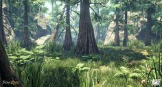 ArtStation - Swamp Forest Lighting Test - UE4, Baiquni Abdillah