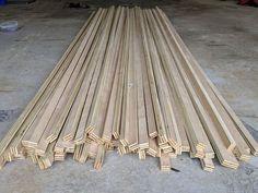Wood Slat Wall, Wood Slats, Decorative Wall Panels, 3d Wall Panels, 3d Wandplatten, Bois Diy, Faux Shiplap, Wall Molding, Ship Lap Walls
