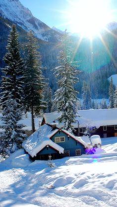 Une belle journée d'hiver pour toi mon amour ♡