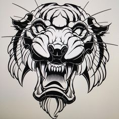 "949 To se mi líbí, 12 komentářů – Jared Mirabile (@sweyda) na Instagramu: ""Black line close to complete them on to the coloring. #apexpredator #tiger #vector #illustration…"""