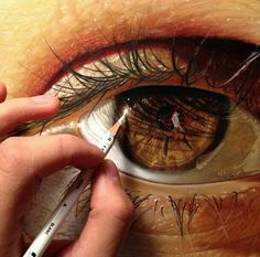 Find images and videos about art, eyes and drawing on We Heart It - the app to get lost in what you love. Shading Drawing, Realistic Eye Drawing, Eyes Artwork, Cool Artwork, Pencil Art, Pencil Drawings, Eye Drawings, Graffiti, Hyperrealism