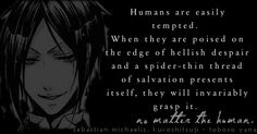 More Black Butler quotes!