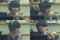 N (VIXX) @ KBS Kiss The Radio 13.11.21 ~ Source : http://hot-cha.com/