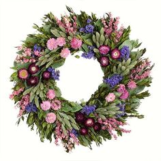 """Features:  -Season:Spring and everyday.  -Summer Garden collection.  -Flower: Mixed. Dimensions:  -22"""" H x 22"""" W x 4"""" D, 2 lbs.  --"""