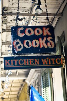 Culinary bookshop rare and out of print cookbooks as well as many modern Louisiana cookbooks.