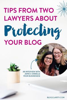 Bloggers don't often think about protecting their blogs from a legal standpoint. This interview with Businessese gives tips about contracts and more.