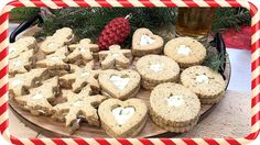 Best Christmas hearty salted cookies with cream cheese Christmas Drinks, Christmas Cooking, Christmas Recipes, Christmas Fun, Tube, Stuffed Mushrooms, Cookies, Baking, Vegetables