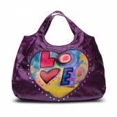 Love Bag in Eggplant