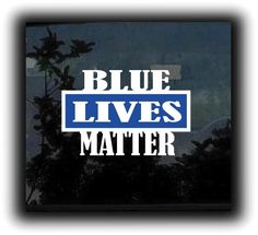 Get your Blue lives Matter Sticker - Decal 2 color from the most trusted place on the net - Made in USA - Top Quality Vinyl Truck Decals, Vinyl Decals, Jeep Wrangler Tj Accessories, Back The Blue Decal, Wounded Warrior Project, Custom Vinyl Lettering, Uber Ride, Honda Logo, 2 Colours