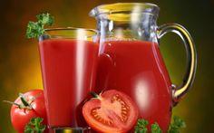 Receitas de Suco Detox de Tomate - Receita Dieta Detox