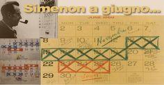 Simenon barrava i giorni che impiegava a scrivere un romanzo e a farne la revisione: 7 per scrivere e 3 per correggere!